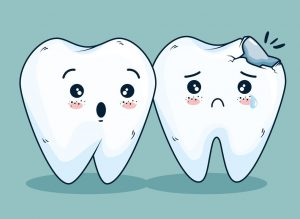 Tooth decay or cavities